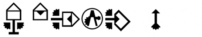 Hein TX3 Symbol Font OTHER CHARS