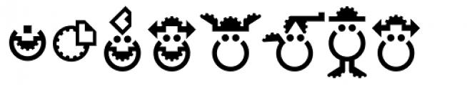 Hein TX3 Symbol Font LOWERCASE