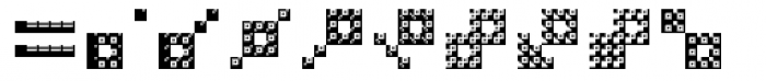 Hein TX5 Symbol In Type Bold Font OTHER CHARS