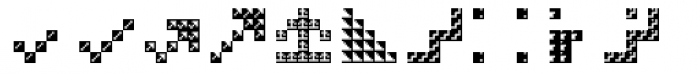 Hein TX5 Symbol In Type Bold Font UPPERCASE