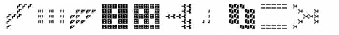 Hein TX5 Symbol In Type Regular Font UPPERCASE