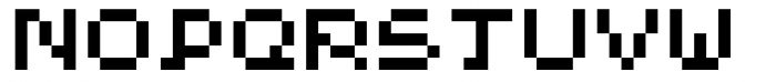 Hein TX5 Font UPPERCASE