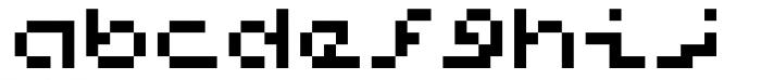 Hein TX5 Font LOWERCASE