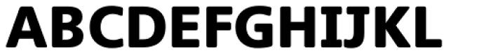 Heinemann Black Font UPPERCASE