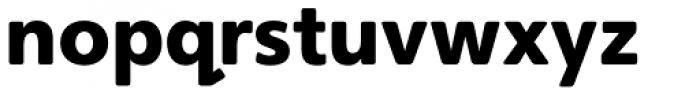 Heinemann Black Font LOWERCASE