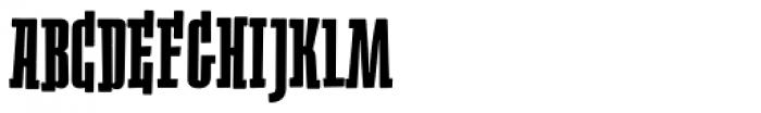 Heino Black Font UPPERCASE