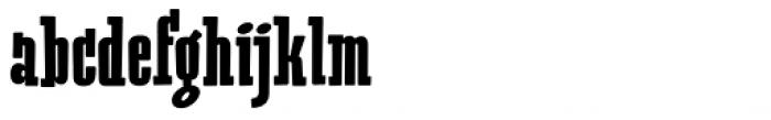Heino Black Font LOWERCASE
