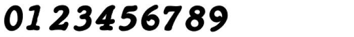 Heirloom Artcraft Black Italic Font OTHER CHARS