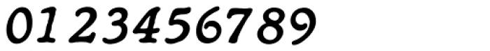 Heirloom Artcraft Demi Bold Italic Font OTHER CHARS