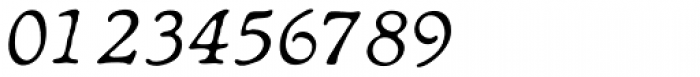 Heirloom Artcraft Thin Italic Font OTHER CHARS