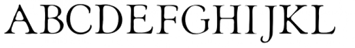 Heirloom Artcraft Thin Font UPPERCASE