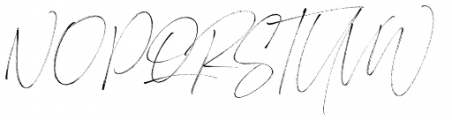 Heisenberg Regular Font UPPERCASE