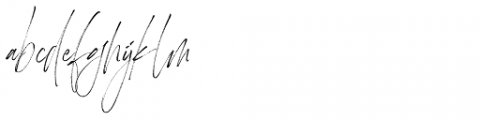 Heisenberg Regular Font LOWERCASE