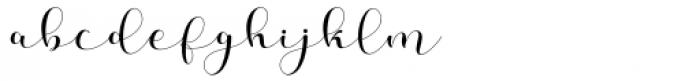 Helena Girl Regular Font LOWERCASE
