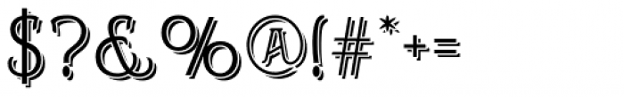 Helenium Demi Font OTHER CHARS