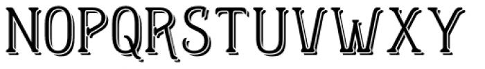 Helenium Demi Font UPPERCASE