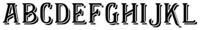 Helenium Heavy Font LOWERCASE