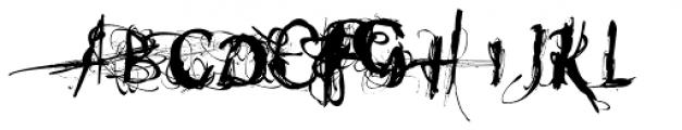 Heleodora 1 Font UPPERCASE
