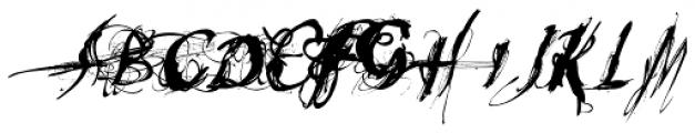 Heleodora 2 Font UPPERCASE