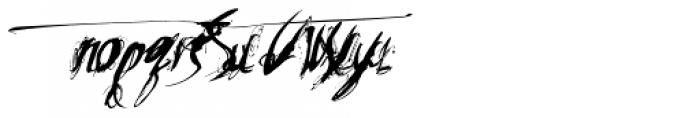 Heleodora 2 Font LOWERCASE
