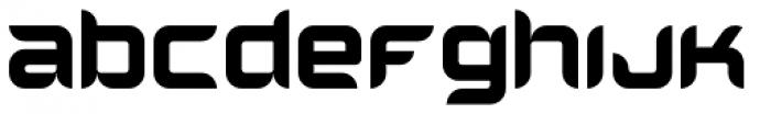 Helion Font LOWERCASE