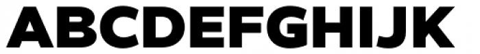 Helios Antique Heavy Font UPPERCASE
