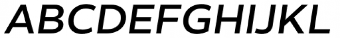 Helios Antique Semi Bold Italic Font UPPERCASE