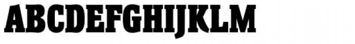 Helium RR ExtraBold Font UPPERCASE