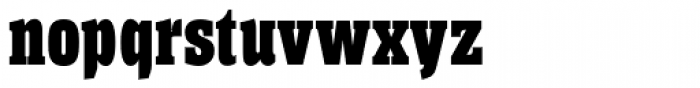 Helium RR ExtraBold Font LOWERCASE