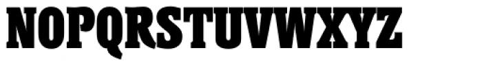 Helium Serial Heavy Font UPPERCASE
