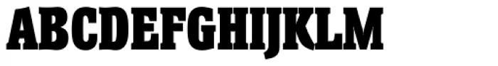 Helium TS Heavy Font UPPERCASE