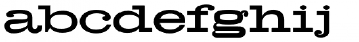 Hellenic Wide JF Font LOWERCASE