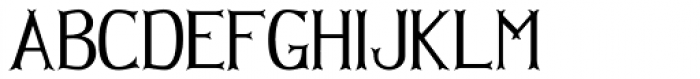 Hellmuth Font LOWERCASE