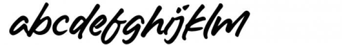 Hello America Alternate Font LOWERCASE