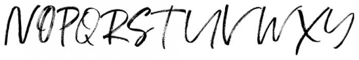 Hello Freshtea Brush Regular Font UPPERCASE