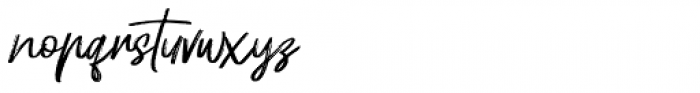 Hellotropica Regular Font LOWERCASE