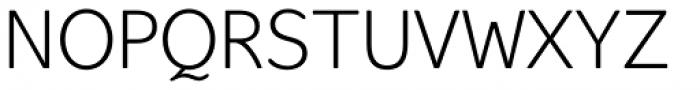 Hellschreiber Sans Light Font UPPERCASE