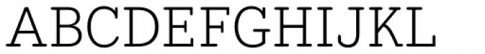 Hellschreiber Serif Light Font UPPERCASE