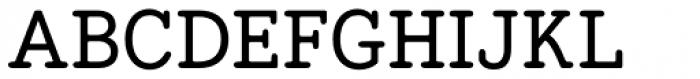 Hellschreiber Serif Medium Font UPPERCASE