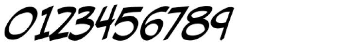 Hellshock Bold Italic Font OTHER CHARS