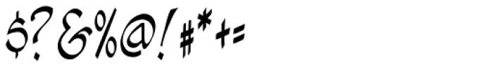 Hellshock Font OTHER CHARS