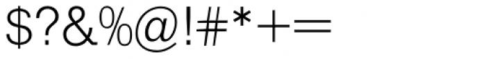 Helserif Light Font OTHER CHARS