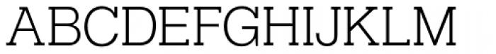 Helserif Light Font UPPERCASE