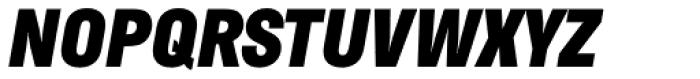Helsinki Black Italic Font UPPERCASE