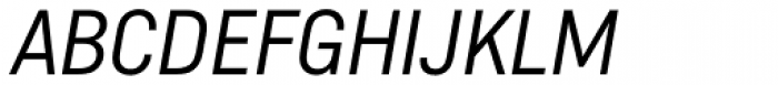 Helsinki ExtraLight Italic Font UPPERCASE