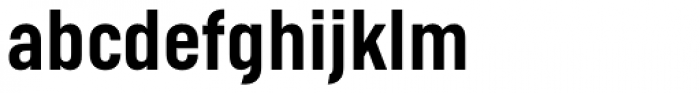 Helsinki Medium Font LOWERCASE