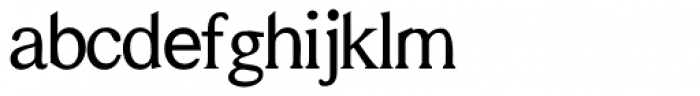 Helvetian Times Font LOWERCASE