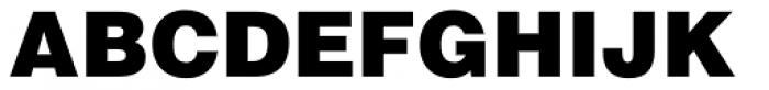 Helvetica Black Font UPPERCASE