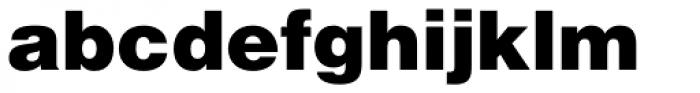 Helvetica Black Font LOWERCASE