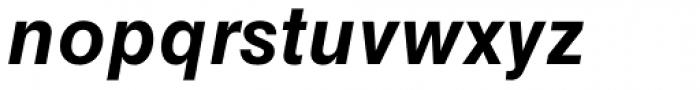 Helvetica Greek Bold Oblique Font LOWERCASE
